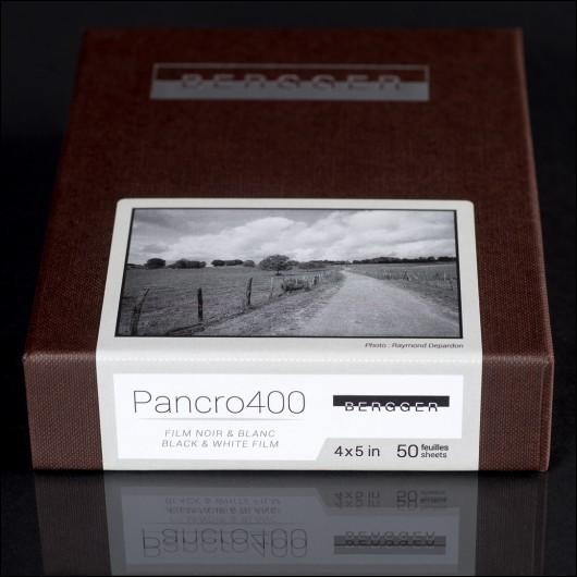 BERGGER PANCRO 400 - Sheet films